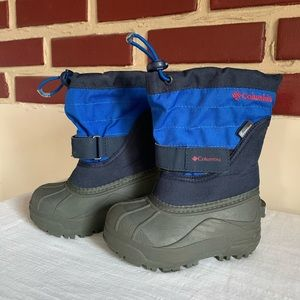 Columbia Children's Winter Boots W/Felt Lining Sz8